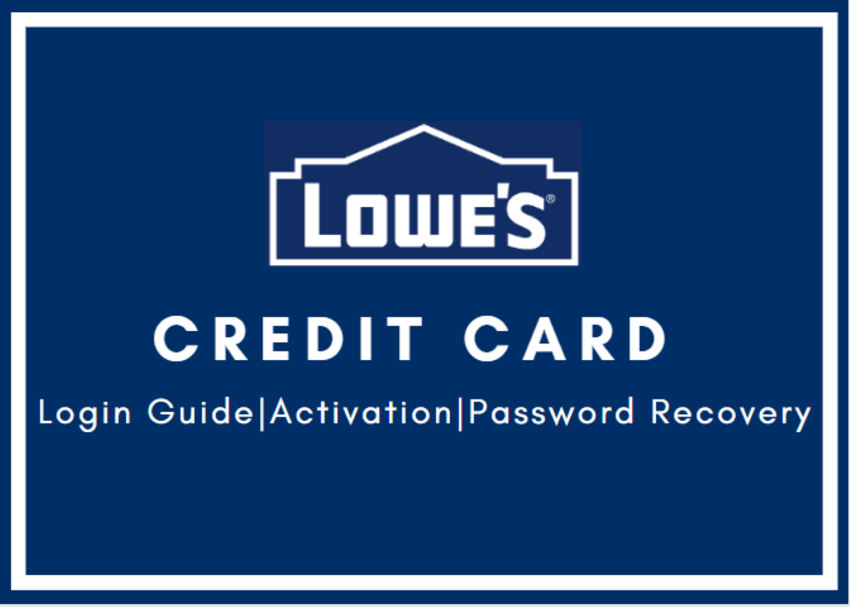 lowes credit card sign in