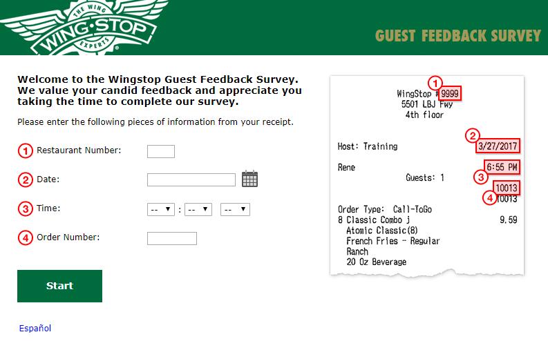 wingspot .com survey