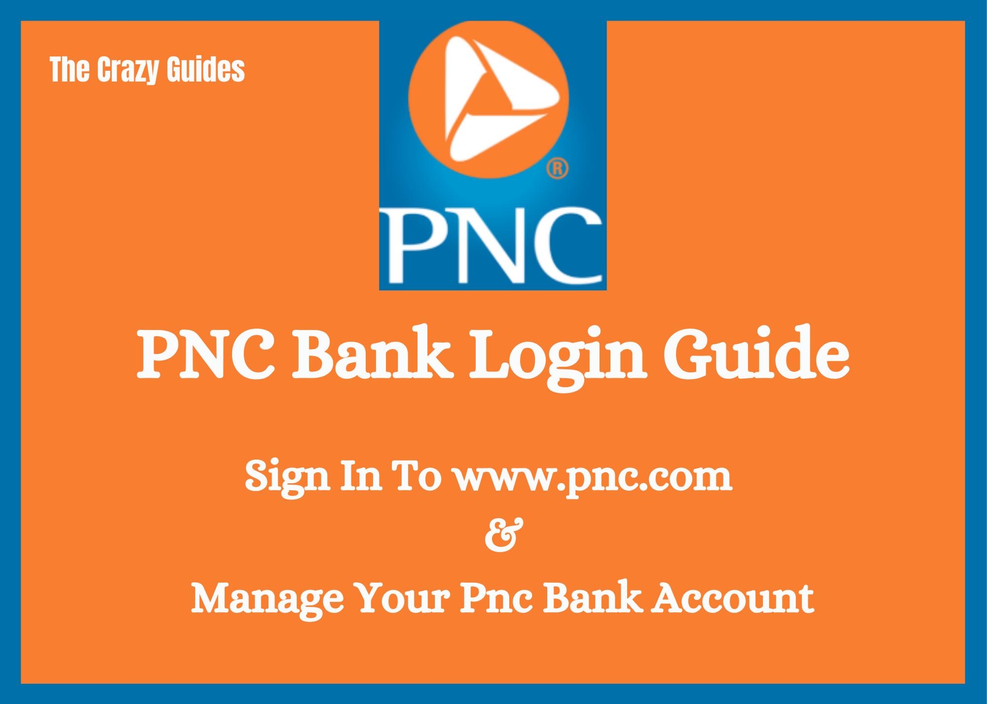 Pnc online banking login