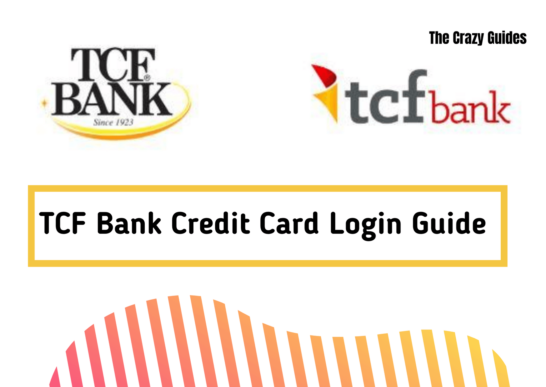 TCF bank credit card login