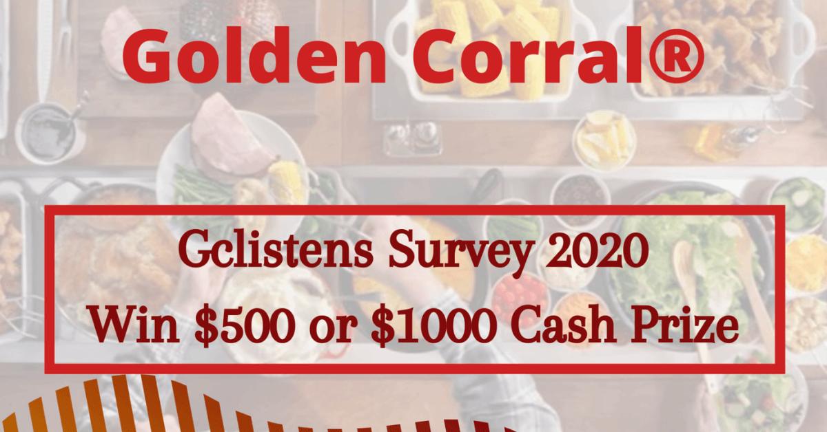 golden corral survey