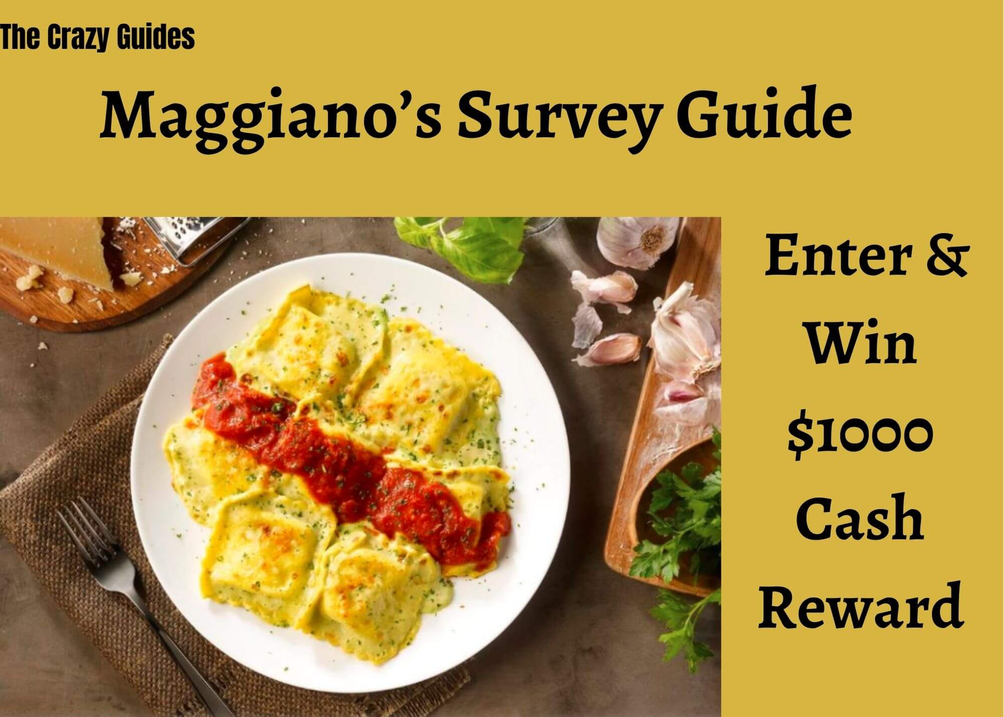maggiano's customer survey
