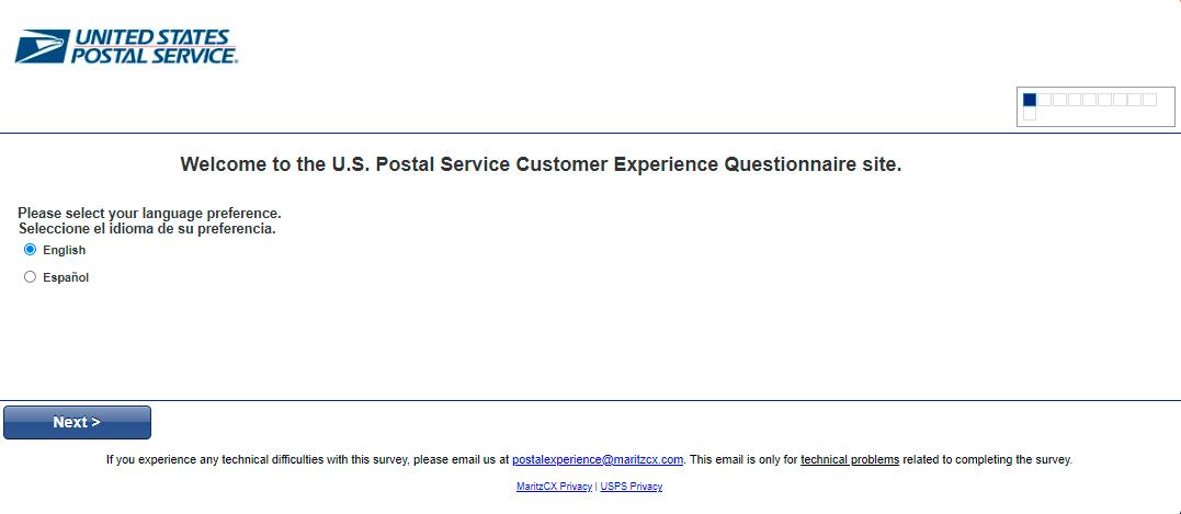 postalexperience.com/pos survey
